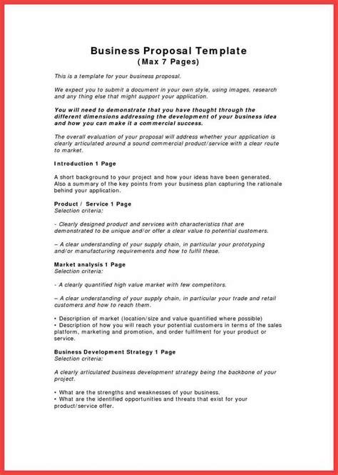 company proposal memo exle