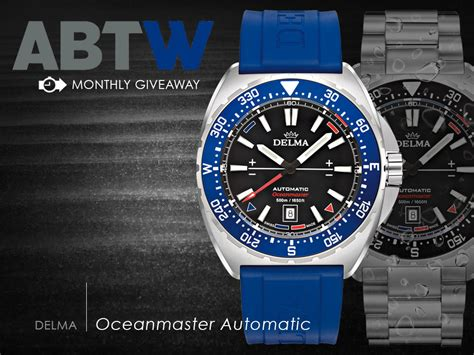 Watch Giveaway - watch giveaway delma oceanmaster automatic ablogtowatch