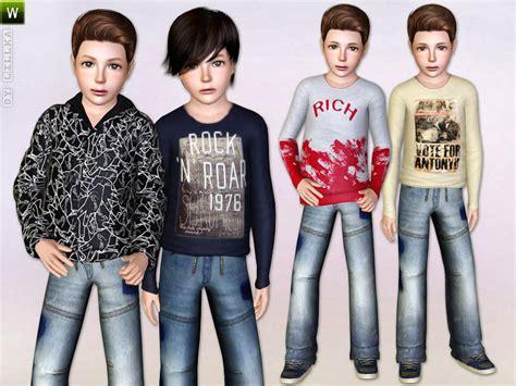 child sims 3 jeans lillka s perfect boy set