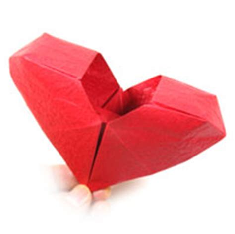 Origami 3d Hearts - how to make origami card