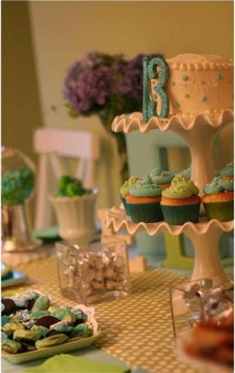 blue and green buffet blue and green dessert buffet tip junkie