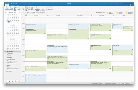 design google kalender ändern outlook 2016 f 195 188 r den mac bekommt integration von google