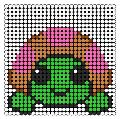 Pinki Turtle Perler Bead Pattern Bead Sprites Animals