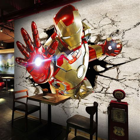 iron man bedroom online buy wholesale superhero wallpaper from china