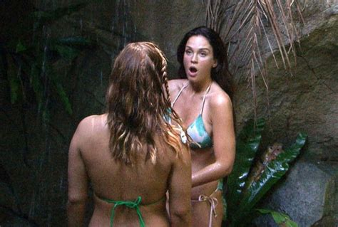sexy and afraid celeb vicky pattison nails the sexy jungle shower as i m a
