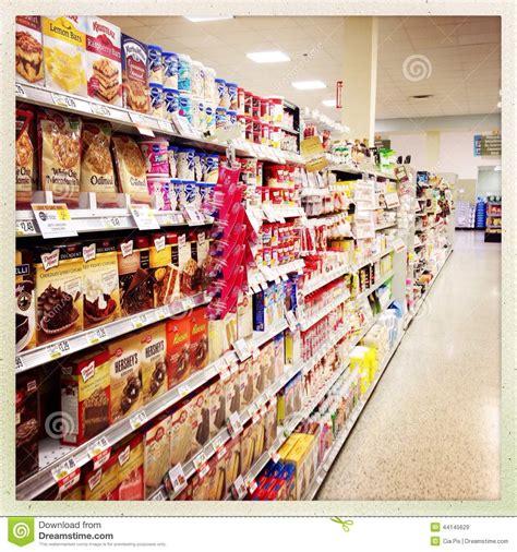 Supermarket Box dessert mixes in supermarket aisle editorial stock image image 44145629