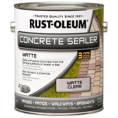rust oleum 1 gal concrete low lustre sealer of 2