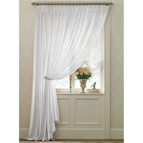 pleated sheers draperies white splendor batiste pinch pleated drape pair