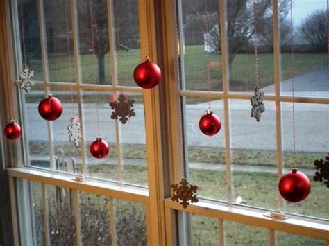 Fensterdeko Weihnachten Kugeln by Fensterdeko Zu Weihnachten 67 Bilder