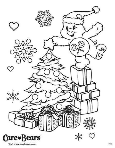 81 Share Bear Coloring Page Share Bear Coloring Tree Topper Coloring Page