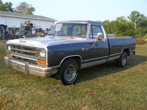 dodge d 150 1987 dodge d150 base standard cab 2 door 5 2l for