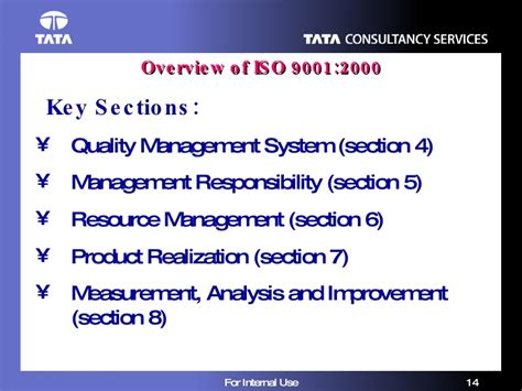 iso 9001 sections quality initiatives iso 9001 2000 1