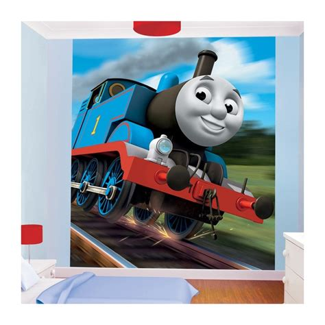 Thomas The Tank Engine Wall Murals walltastic thomas the tank engine mural wall murals kids