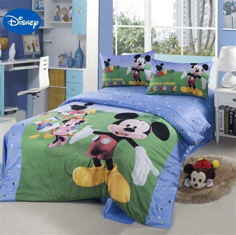 mickey mouse home decor my home disney cartoon mickey mouse club house bedding textile for