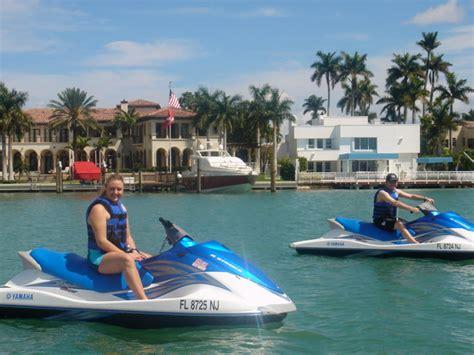jet boat miami jet ski miami jet ski tours and rentals