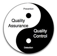 the difference between quality assurance and quality