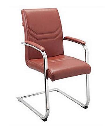 Chair Purchase Aks Furniture Brown Stainlesssteel Visitors Chair Buy