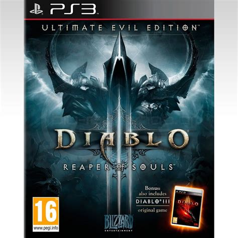 Sony Dvd Ps 4 Diablo by Diablo Iii Reaper Of Souls Ultimate Evil Edition Ps3
