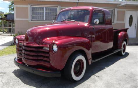 truck for sale restored 1952 chevrolet custom extended cab for sale