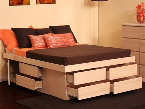 awesome bed frames bed storage archives the home redesign