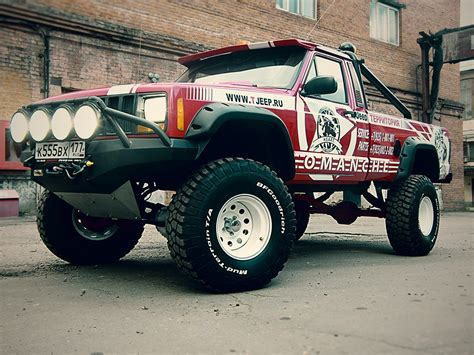 jeep truck lifted lifted jeep comanche 4x4 build ideas truck pics