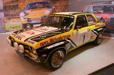 1971 opel ascona opel 1971 ascona a rally group 2 the history of cars