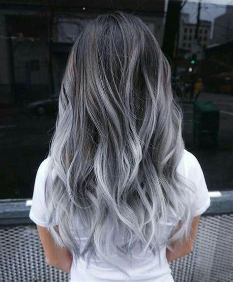 fashion gray hair styles  trendy gals hair