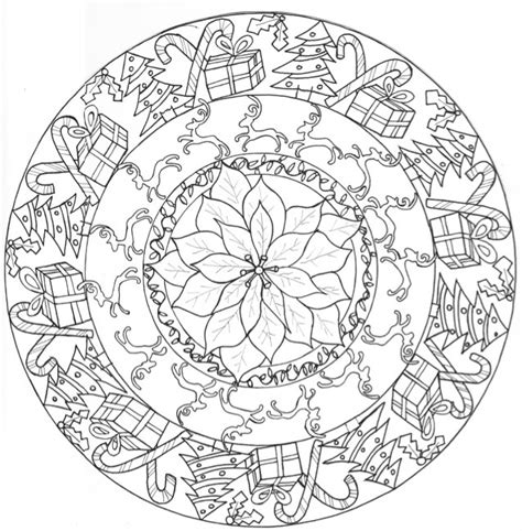 christmas mandala coloring pages google search the joy