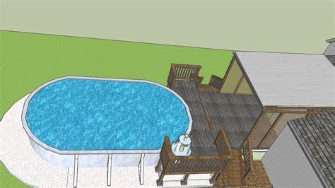 google sketchup deck tutorial google sketchup deck addition design pt 1 youtube