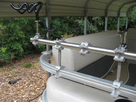 metal boat rod holders pontoon boat rod holders