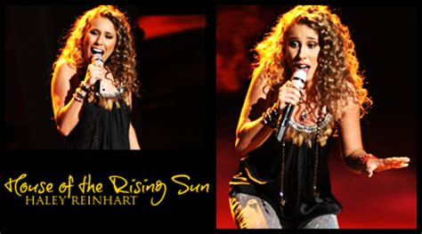 House Of The Rising Sun Reinhart the dam nation american idol 10 wrap up 25 best performances
