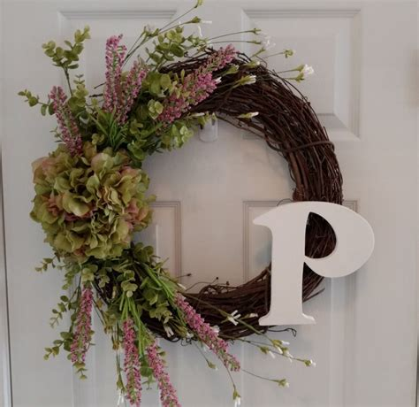 spring wreaths for front door spring wreath summer wreath front door by cookielovescrafts
