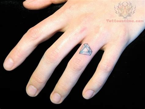 diamond tattoo on finger 56 stylish tattoos on finger