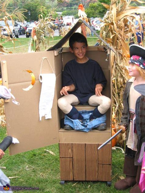 homemade porta potty costume