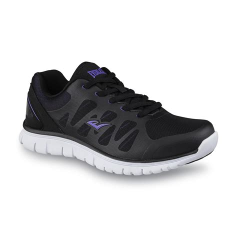 everlast running shoes everlast 174 s pace black purple running shoe shop