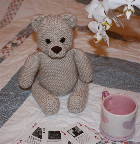 teddy knitting patterns free free teddy knitting pattern gizmo and stitch
