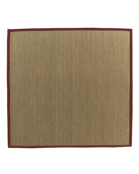 rugs a bound lanart rug seagrass bound 61 5 ft x 5 ft area rug the home depot canada