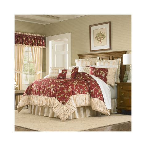 madison park vivian 7 pc comforter set buy mary jane s home 4 pc sunset serenade comforter set