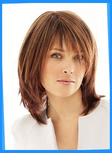 haircuts for medium hairstyles feathered haircuts for medium hair hairstyle hits pictures