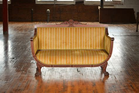 striped settee square or striped settee the rental company