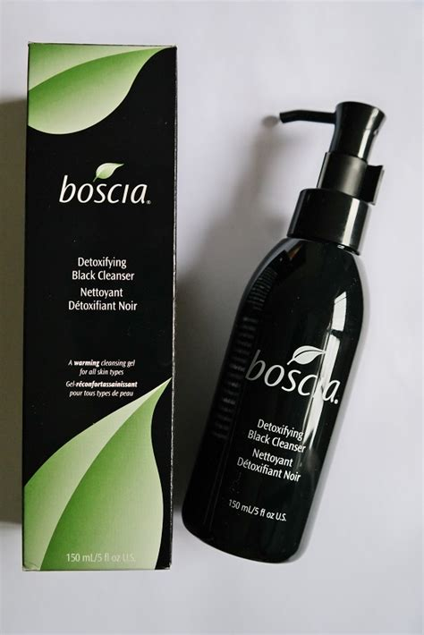 Review Boscia by Boscia Detoxifying Black Cleanser Review Singapore