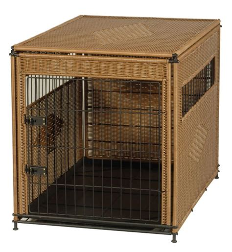 designer dog crates mr herzher s pet residence designer wicker dog crate
