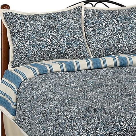 blue damask comforter set batik damask blue queen comforter set bed bath beyond