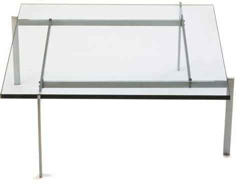 Coffee Table Marble Top - poul kjaerholm pk61 coffee table hivemodern com