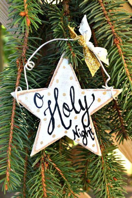 wooden christmas ornaments ideas  pinterest