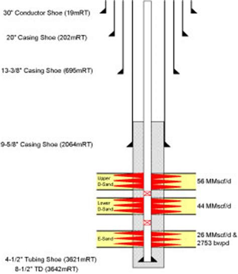 well completion diagram wellbore schematic diagram wellbore get free image about