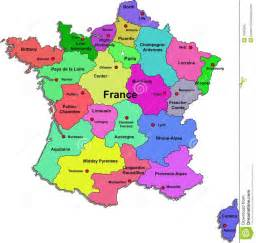 Regions Of France Map by France Map French Life Pinterest