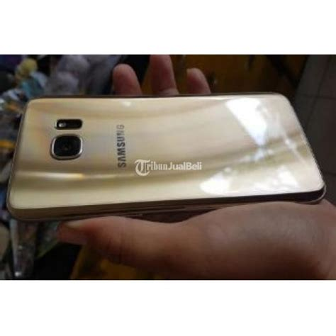 Harga Samsung S7 Lcd handphone bekas samsung s7 edge gold platinum duos 32gb