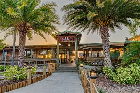 Grills Melbourne Fl by Grills Seafood Waterfront Restaurant Orlando Port