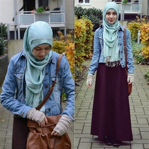Blouse Denimatasan Denim Import Fashion Wanita 1000 images about skirts on on hijabs fashion and styles
